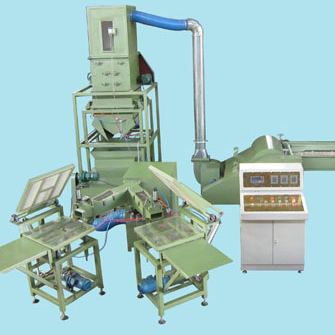 ZXJ-88 Automatic weighting pillow filling machine