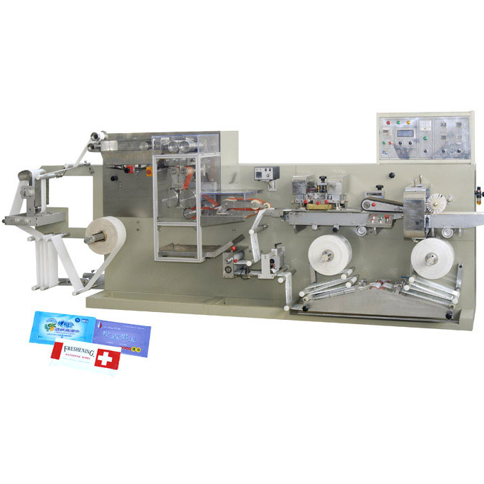 DC-5 Wet tissue folding machine
