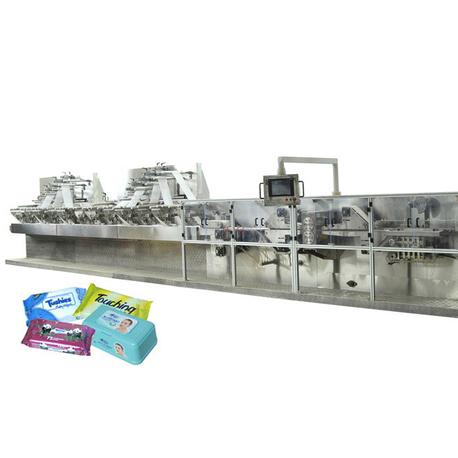 DCW-4300 Wet wipes machine