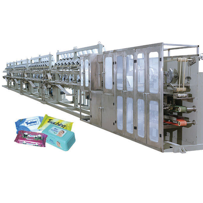 DCW-4800-40 full automatical wet wipes making machine
