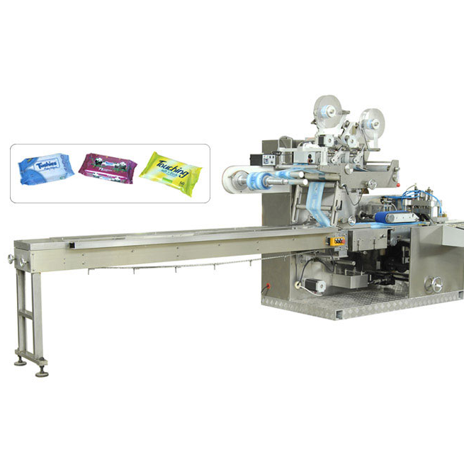 KGT-320 Full-auto attachable wet wipes packing machine