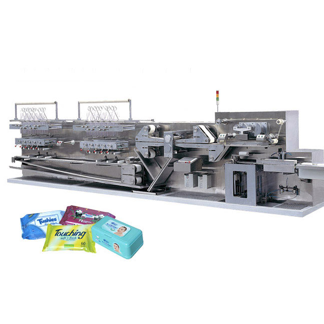DCW-2500Z Baby wet wipes folding machine(No pop-up)