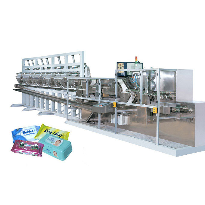 DCW-2700L Wet wipes folding machine(80-120pices)