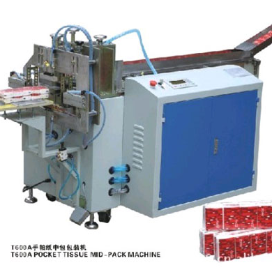 T600A pocket tissue mid-pack machine