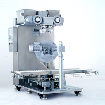 All four head dumpling production line of CNC high speed