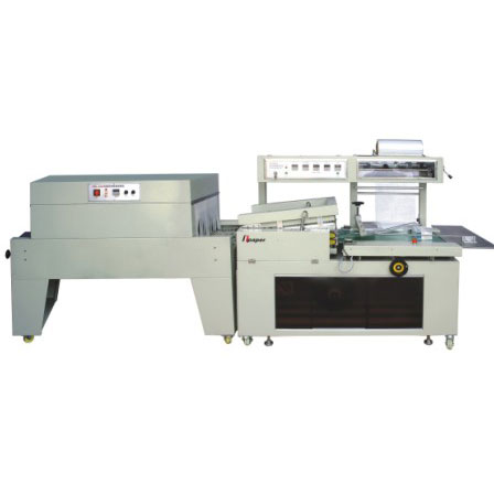 OPS-350B Automatic box paper collective thermal shrink packing machine