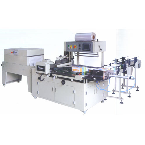 OPS-680B Automatic box paper collective thermal shrink packing machine