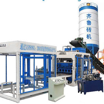 QT9-15 制砖机生产线