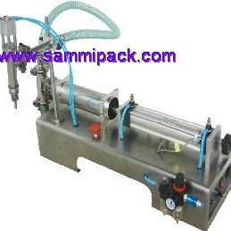 Pheumatic liquid filling machine