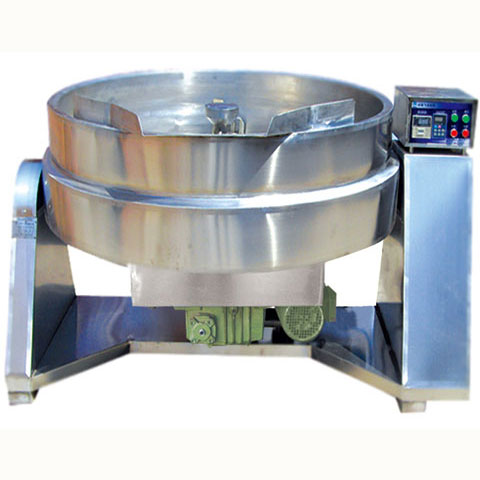 CJB-130 Tilting-type Down-stirring Lotus Paste Wok