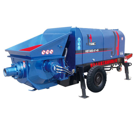 Small (Large Aggregate) Concrete Pump