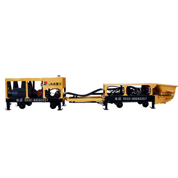 Mining concrete pumps