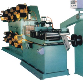 Iron core winding machine