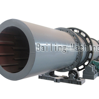 Rotary drum dryer