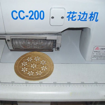 CC-200 Ultrasonic Lace Machine