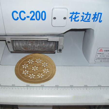 CC-200 Ultrasonic Lace Machine
