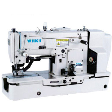 WK781 High-speed Lockstitch Straight Button Holing Sewing Machine