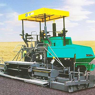 RP601 asphalt concrete Paver