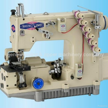 High Speed Nylon Zipper Sewing Machine