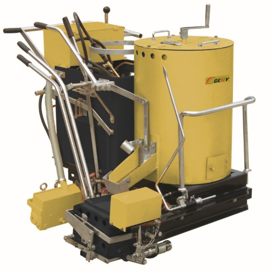 GN-SPC-I Self-propelled Thermoplastic (convex) Road Marking Machine