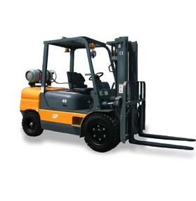 3.5-4Ton Gasoline & LPG Forklift (dual fuel)