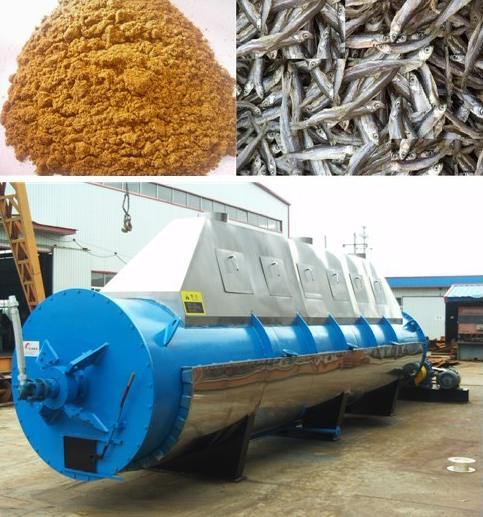 Fish meal machine