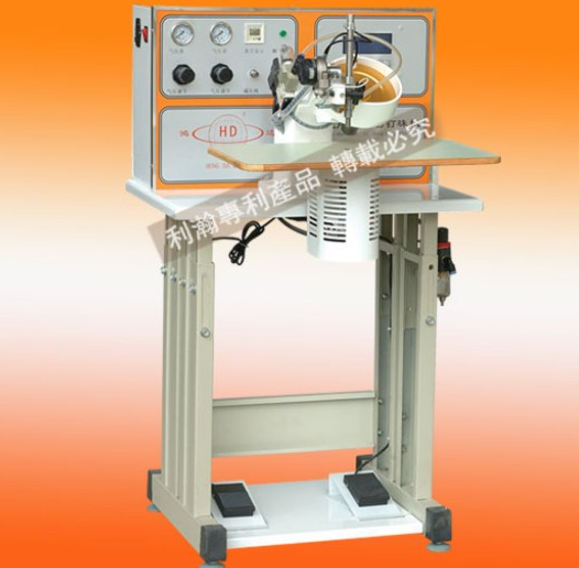 HD-TZ200809 Ultrasonic Single Disc Hot Fix Machine