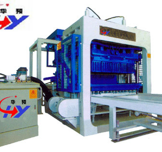 HY-QT10-15 Brick Making Machine