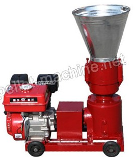 Electric Flat Die Wood Pellet Machine