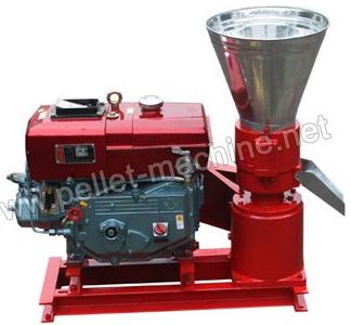 Diesel Flat Die Wood Pellet Machine
