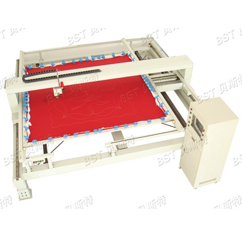 BST-8 Single Head Computerized Quilting Machine