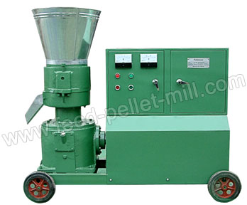 Electric Flat Die Feed Pellet Mill AMSPLM-120B
