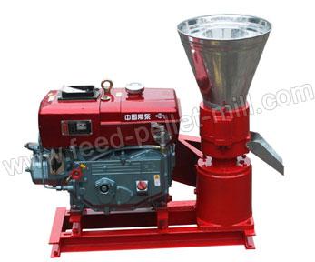 Diesel Flat Die Feed Pellet Mill AMSPLM-120A