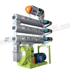 High Quality Aquatic Feed Pellet Mill/ Amisy Ring Die Pellet Mill