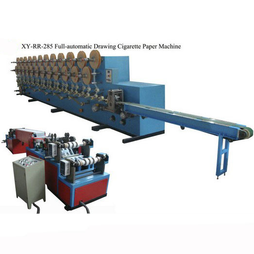 XY-RR-285 Full-automatic drawing cigarette rolling paper machine