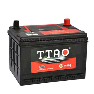 MF newest car terminal batteries 58500-58Ah