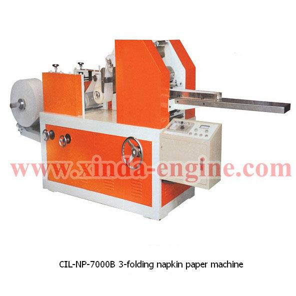 CIL-NP-7000B 3-folding napkin paper machine