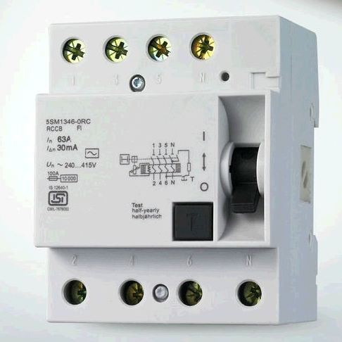 5SM1346 Residual Current Circuit Breaker RCCB