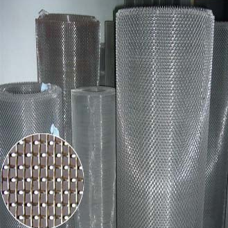 Steel expanded mesh