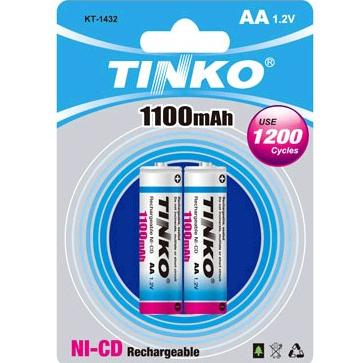 NI-CD Battery Size AA 1100MAH