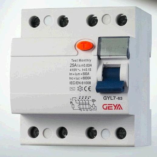 GYL7 Earth Leakage Circuit Breaker