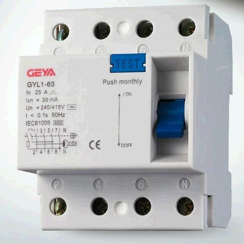 4P F364 RCCB/RCD/Residual Current Circuit Breaker