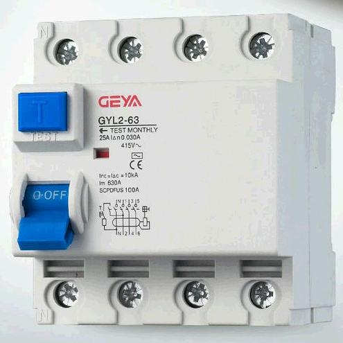 GYL2 Series Residual Current Circuit Breaker/RCCB/ELCB