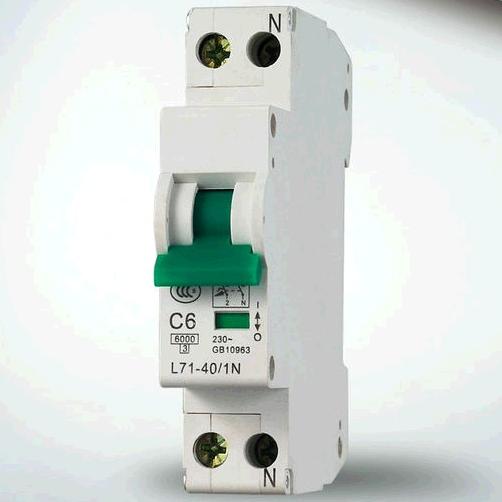 L7 10KA 1P MCB Circuit Breaker