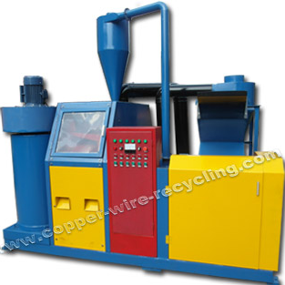 AMS-400 copper cable granulator