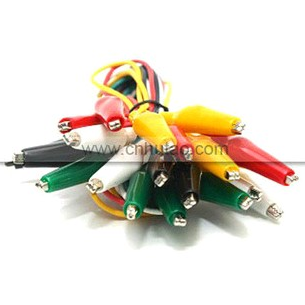 PVC Five-wire Alligator Clips