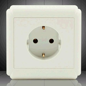 One gang European Wall Socket