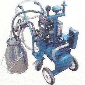 Вакуумный насос введен расширенный Moblie машинного доения (бензин, дизель)
