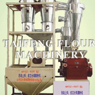 6FSZ-50T automatic feeding, leather core separation flour machine