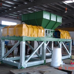Plastic shredder ( Double shaft)